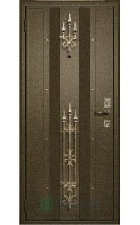 Декоративная отделка металлом №130
